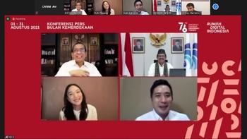 Rumah Digital Indonesia, Arena Virtual Rayakan HUT RI ke-76