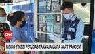 VIDEO: Risiko Tinggi Petugas Transjakarta Saat Pandemi