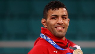 Judoka Pembelot Iran Terima Kasih ke Israel Usai Raih Medali