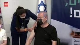 VIDEO: Benjamin Netanyahu Terima Booster Vaksin Pfizer