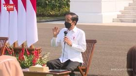 VIDEO: Jokowi Optimis Vaksinasi Covid-19 Selesai Akhir Tahun