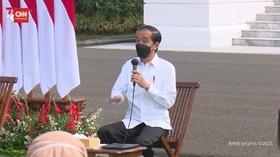 VIDEO: BOR RSDC Wisma Atlet Turun, Jokowi: Patut Disukuri