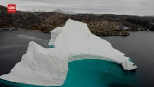 VIDEO: 8,5 Miliar Ton Es Greenland Mencair dalam Satu Hari