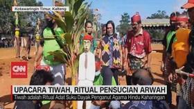 VIDEO: Upacara Tiwah, Ritual Pensucian Arwah