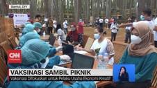 VIDEO: Vaksinasi Sambil Piknik