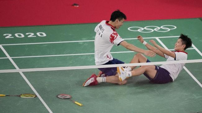 Wang/Huang Rebut Emas Ganda Campuran Olimpiade Tokyo