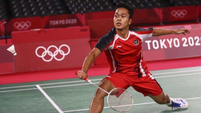 Netizen Malaysia Doakan Ginting ke Final Olimpiade Tokyo