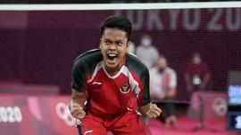 FOTO: Ginting dan Penantian 17 Tahun Indonesia di Olimpiade