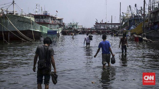 Selama Juli 2021, BNPB mencatat bencana alam di RI didominasi oleh bencana hidrometeorologi seperti banjir, puting beliung, dan longsor.