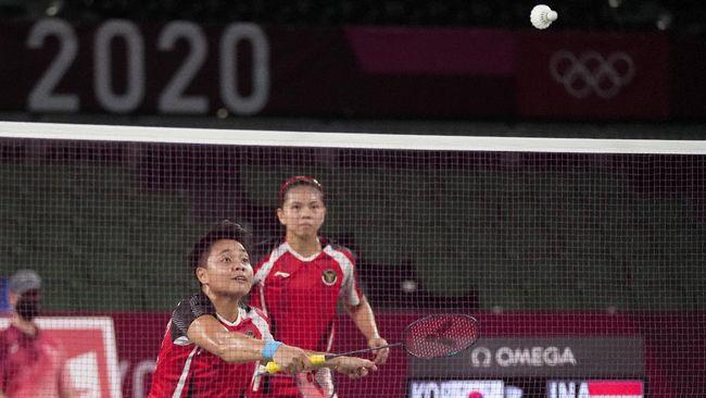 Berikut perjalanan Greysia Polii/Apriyani Rahayu ke final Olimpiade Tokyo 2020 usai mengalahkan ganda Korea Selatan Lee So Hee/Shin Seung Chan di semifinal.