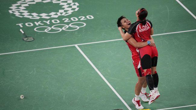 Berikut link live streaming Greysia Polii/Apriyani Rayahu vs Chen/Jia pada final ganda putri badminton Olimpiade Tokyo 2020.