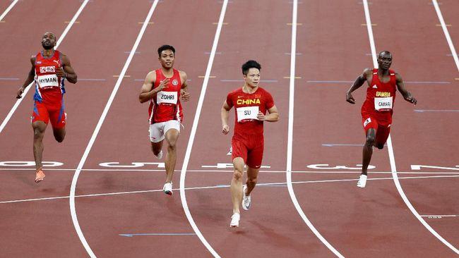 Sprinter Indonesia Lalu Muhammad Zohri memetik pelajaran berharga dalam debutnya di Olimpiade Tokyo 2020.