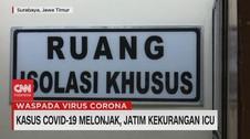 VIDEO: Kasus Covid-19 Melonjak, Jatim Kekurangan ICU