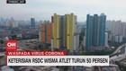 VIDEO: Keterisian RSDC Wisma Atlet Turun 50 Persen