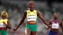 Elaine Thompson Pecahkan Rekor 100 Meter Putri Olimpiade