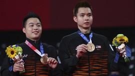 Ganda Malaysia di Olimpiade: Ahsan Idola, Hendra Legenda