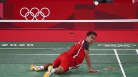 Ginting Kalah dari Axelsen, Indonesia Tertinggal 0-1