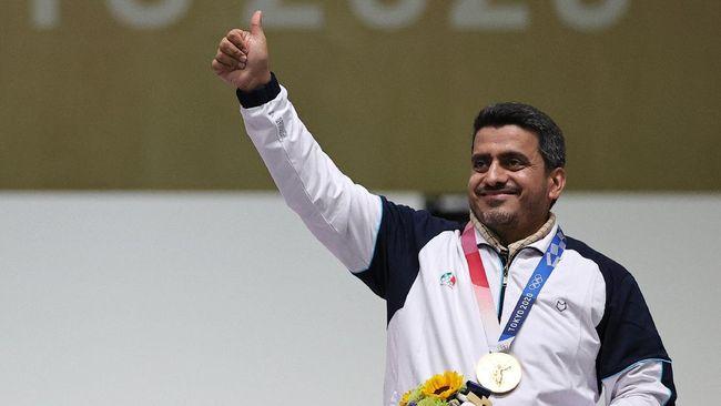 Petembak Korea Selatan Jin Jong Oh minta maaf usai sebut peraih emas Olimpiade Tokyo 2020 asal Iran Javad Foroughi sebagai teroris.