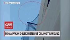 VIDEO: Penampakan Objek-objek Misterius di Langit Bandung