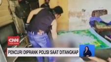VIDEO: Pencuri Diprank Polisi Saat Ditangkap