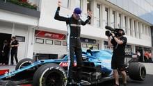 Hasil F1 GP Hungaria: Ocon Juara, Hamilton ke Puncak Klasemen