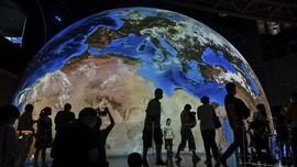 FOTO: Mengintip Planetarium Terbesar Dunia di Shanghai