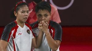 Olimpiade Tokyo: Alasan Apriyani Kerap Cium Tangan Greysia