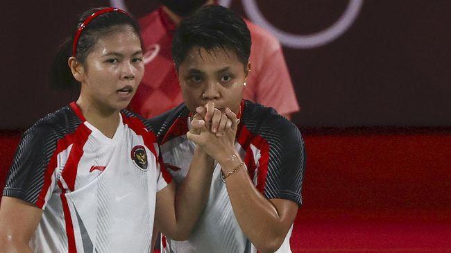 Apriyani Rahayu mengaku alasan kerap mencium tangan pasangannya di ganda putri Olimpiade Tokyo 2020, Greysia Polii sebagai sebuah kebiasaan.