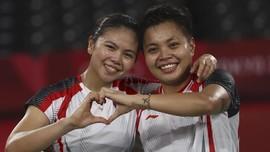 RI Negara Kedua dengan Emas Badminton Komplet Semua Nomor