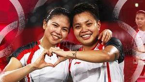 Greysia/Apriyani Rebut Emas Olimpiade Tokyo