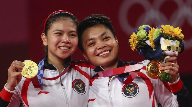 China menjadi penguasa di cabang olahraga badminton Olimpiade, namun wakil negara Tirai Bambu itu tak selalu bisa menang atas Indonesia dalam laga final.