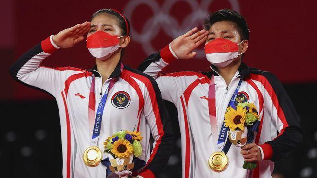 Menteri Pemuda dan Olahraga Zainudin Amali berterima kasih kepada seluruh atlet yang telah mengharumkan nama bangsa di Olimpiade Tokyo 2020.