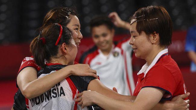 Berikut kunci keberhasilan Greysia Polii/Apriyani Rahayu meraih emas badminton Olimpiade Tokyo 2020.
