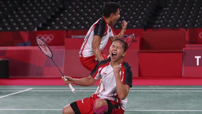 Greysia/Apriyani Rebut Medali Emas Olimpiade Tokyo