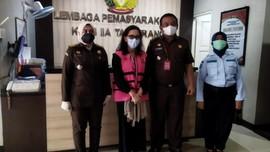 Eks Jaksa Pinangki Dieksekusi ke Lapas Wanita Tangerang