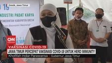VIDEO: Jawa Timur Percepat Herd Immunity