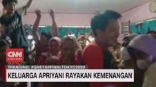 VIDEO: Keluarga Apriyani Rayakan Kemenangan