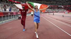 FOTO: Sejarah 113 Tahun Medali Emas Olimpiade Tokyo Dibagi 2