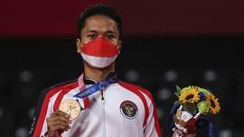 Anthony Ginting Jaga Momentum Olimpiade di Piala Sudirman