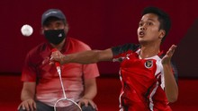 Ginting Jadi Tunggal Putra ke-7 Indonesia yang Raih Medali