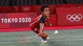 Hasil Piala Sudirman: Ginting Menang, Indonesia Unggul 1-0