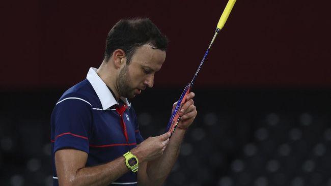 Meski tak mendapat medali badminton Olimpiade Tokyo, Kevin Cordon mendapat kehormatan diarak keliling kota setelah ia pulang ke Guatemala.