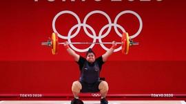 Nurul Akmal Sukses Angkat 256 Kg di Olimpiade Tokyo