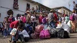 FOTO: Warga Desa Kolombia Terjebak Kecamuk Perang Narkoba
