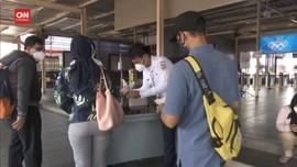 VIDEO: Stasiun Manggarai di Hari Terakhir PPKM Level 4