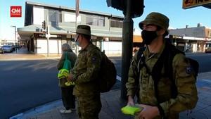 VIDEO: 300 Tentara Diterjunkan untuk Awasi Lockdown Sydney