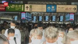 VIDEO: Corona Masih Tinggi, Warga Tokyo Tetap Padati Stasiun