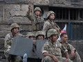 VIDEO: Baku Tembak di Pemakaman Hizbullah, Lima Orang Tewas
