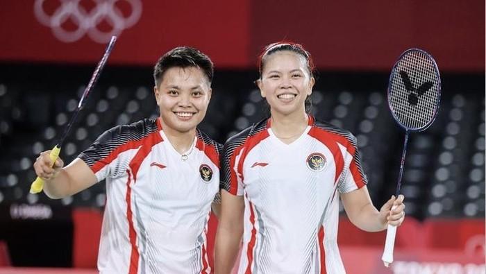 Sumbang Emas Pertama untuk Indonesia di Olimpiade Tokyo 2020, Ini 4 Fakta Inspiratif Greysia Polii dan Apriyani Rahayu