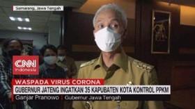 VIDEO: Ganjar Pranowo Ingatkan 35 Kabupaten Kota Kontrol PPKM